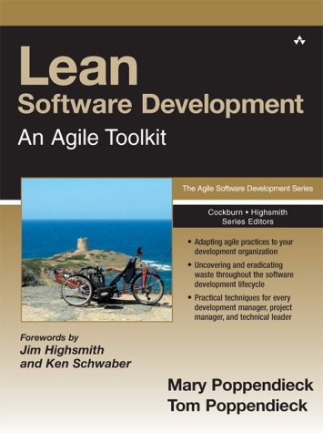 Lean Software Development An Agile Toolkit  2003 edition cover