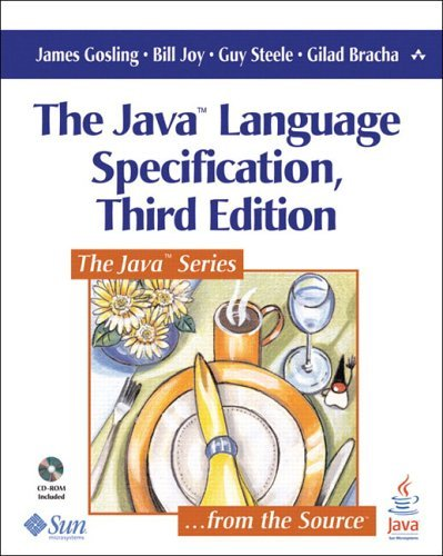 Java Language Specification  3rd 2005 (Revised) 9780321246783 Front Cover