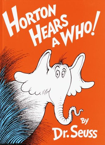 Horton Hears a Who!   1982 9780394800783 Front Cover