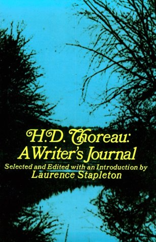 H. D. Thoreau A Writer's Journal N/A 9780486206783 Front Cover