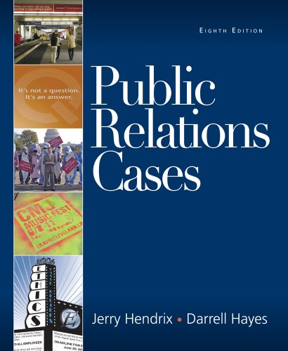 Public Relations Cases  8th 2010 edition cover