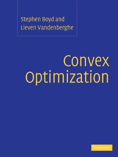 Convex Optimization   2004 edition cover