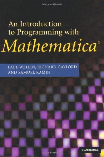 Introduction to Programming with Mathematica  3rd 2004 (Revised) 9780521846783 Front Cover