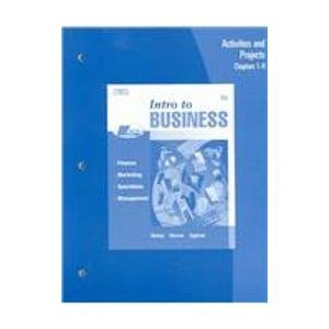 Intro to Business  6th 2006 9780538440783 Front Cover