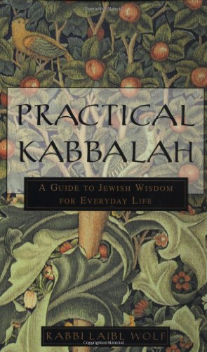 Practical Kabbalah A Guide to Jewish Wisdom for Everyday Life  2000 edition cover