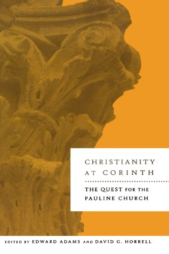 Christianity at Corinth The Quest for the Pauline Church  2004 edition cover