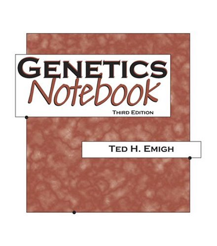 Genetics Notebook 3rd 2004 (Revised) 9780757511783 Front Cover