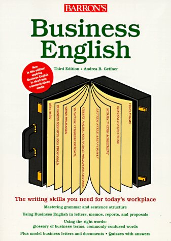 Business English 3rd 1998 9780764102783 Front Cover