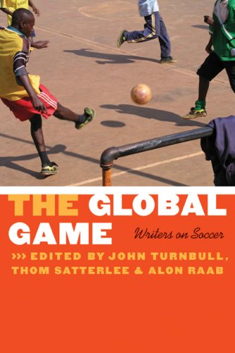Global Game Writers on Soccer  2008 edition cover