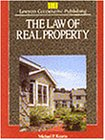 Law of Real Property  1st 1993 edition cover