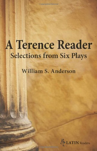 Terence Reader Selections from Six Plays  2009 9780865166783 Front Cover
