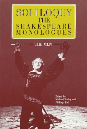Soliloquy! The Shakespeare Monologues The Men  2000 edition cover
