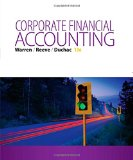 Corporate Financial Accounting: 13th 2015 edition cover