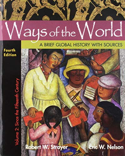Cover art for Ways of the World with Sources, Volume 2: A Brief Global History, 4th Edition