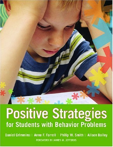 Positive Strategies for Students with Behavior Problems   2007 edition cover