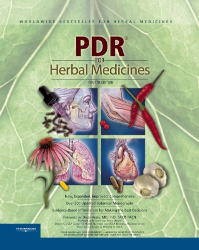 PDR for Herbal Medicines  4th 2008 edition cover