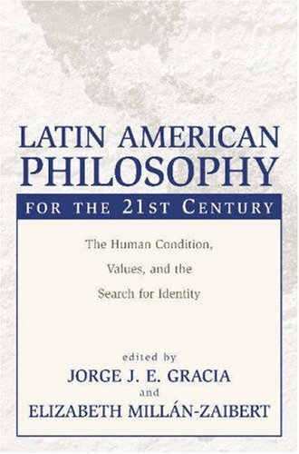 Latin American Philosophy for the 21st Century   2003 edition cover