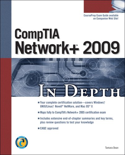 CompTIA Network+ 2009 in Depth   2010 9781598638783 Front Cover