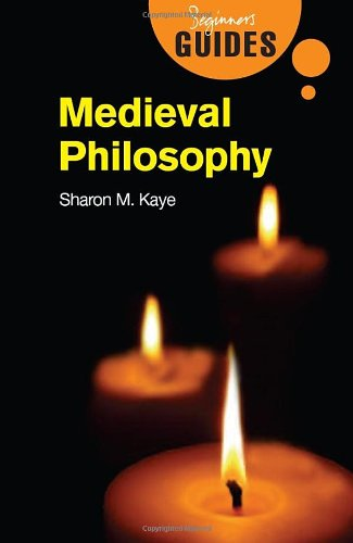 Medieval Philosophy A Beginner's Guide  2008 edition cover