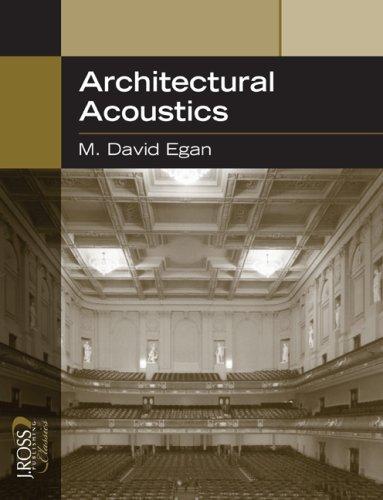 Architectural Acoustics   2007 edition cover