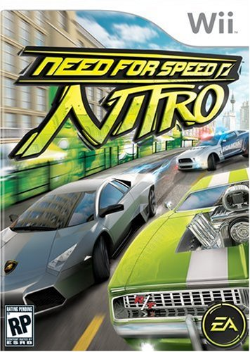 Need for Speed: Nitro Nintendo Wii artwork