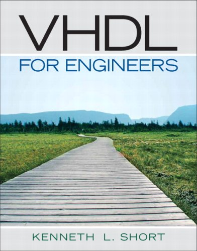VHDL for Engineers   2009 edition cover