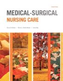 Medical-surgical Nursing Care:   2015 edition cover