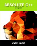 Absolute C++:   2015 edition cover