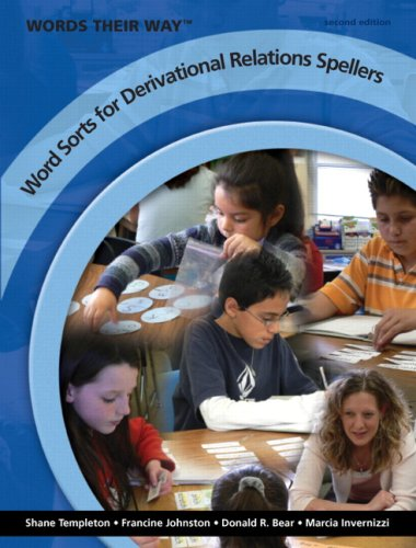 Words Their Way Word Sorts for Derivational Relations Spellers  2nd 2009 edition cover
