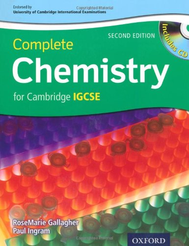 Complete Chemistry for Cambridge IGSCE�  2nd 2010 edition cover