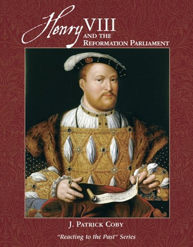 Henry VIII and the Reformation Parliament   2006 edition cover