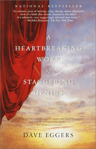 Heartbreaking Work of Staggering Genius   2001 edition cover