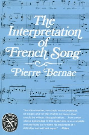 Interpretation of French Song  Reprint edition cover