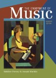 Enjoyment of Music An Introduction to Perceptive Listening 11th edition cover