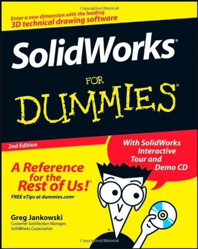 SolidWorks for Dummies  2nd 2008 edition cover