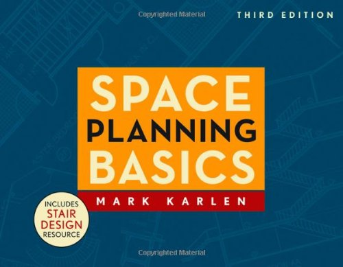 Space Planning Basics  3rd 2009 edition cover