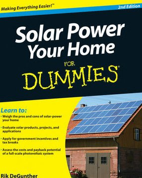 Solar Power Your Home for Dummies�  2nd 2010 edition cover