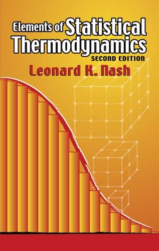 Elements of Statistical Thermodynamics  2nd 2006 (Revised) edition cover