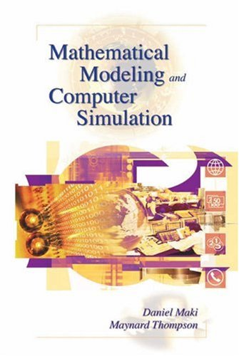 Mathematical Modeling and Computer Simulation   2006 9780534384784 Front Cover