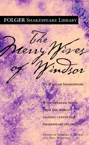 Merry Wives of Windsor   2004 edition cover