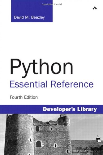 Python Essential Reference 4th 2010 edition cover
