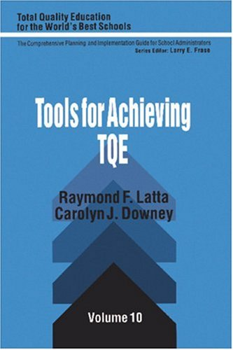 Tools for Achieving Total Quality Education   1994 edition cover