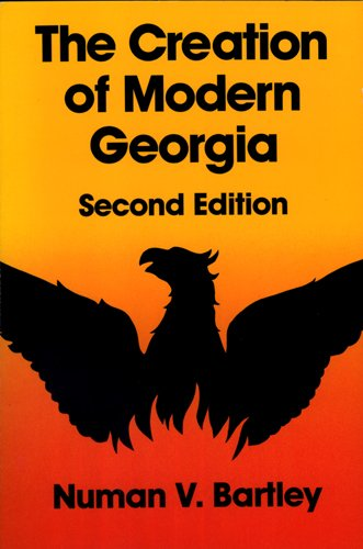 Creation of Modern Georgia  2nd 1990 edition cover