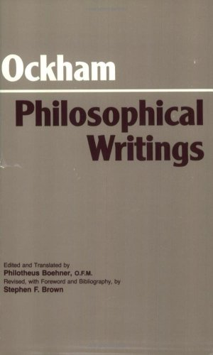 Ockham - Philosophical Writings   1990 (Revised) edition cover