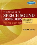 Manual of Speech Sound Disorders A Book for Students and Clinicians 3rd 2015 edition cover