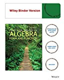 Algebra Form and Function, Second Edition Binder Ready Version 2nd 2015 edition cover