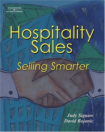 Hospitality Sales Selling Smarter  2004 9781401834784 Front Cover