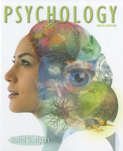 Psychology  10th 2013 9781429261784 Front Cover