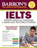 Barron's IELTS with Audio CDs, 3rd Edition  3rd 2013 (Revised) edition cover