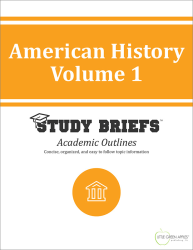 American History Volume 1 cover